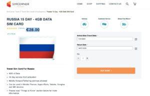 Acheter une carte SIM russe en France 1