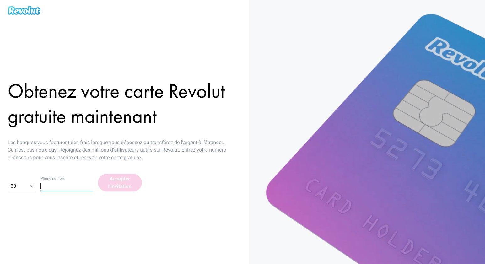 Carte Revolut - Beyond Banking