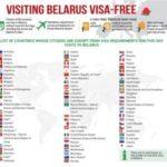 Comment voyager en Bielorussie sans Visa