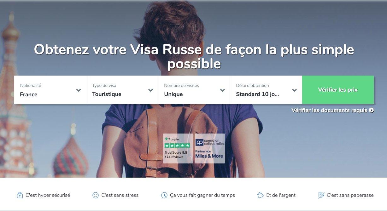 Visa russe en ligne - Obtenez votre visa rapidement | Viselio