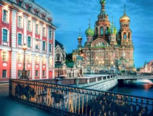 Eglise du Sauveur Saint-Petersbourg