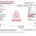 Exemple de lettre dinvitation en Russie avec Airbnb