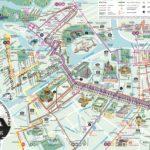 Carte touristique officielle du Saint-Pétersbourg centre