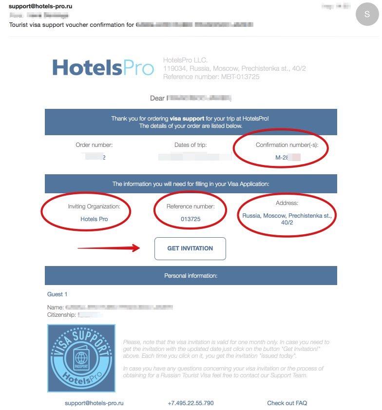 Invitation en Russie pour les Marocains - HotelsPro 3