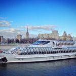 Excursion en bateau a Moscou