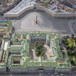 La Place du Palais de Saint Petersbourg